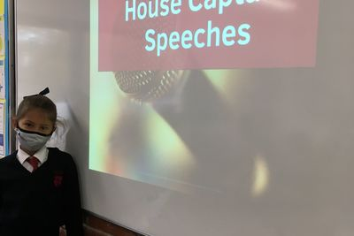 Aylin House Captain Speech