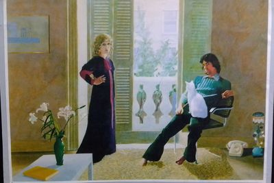 Original Mr and Mrs Clark Hockney
